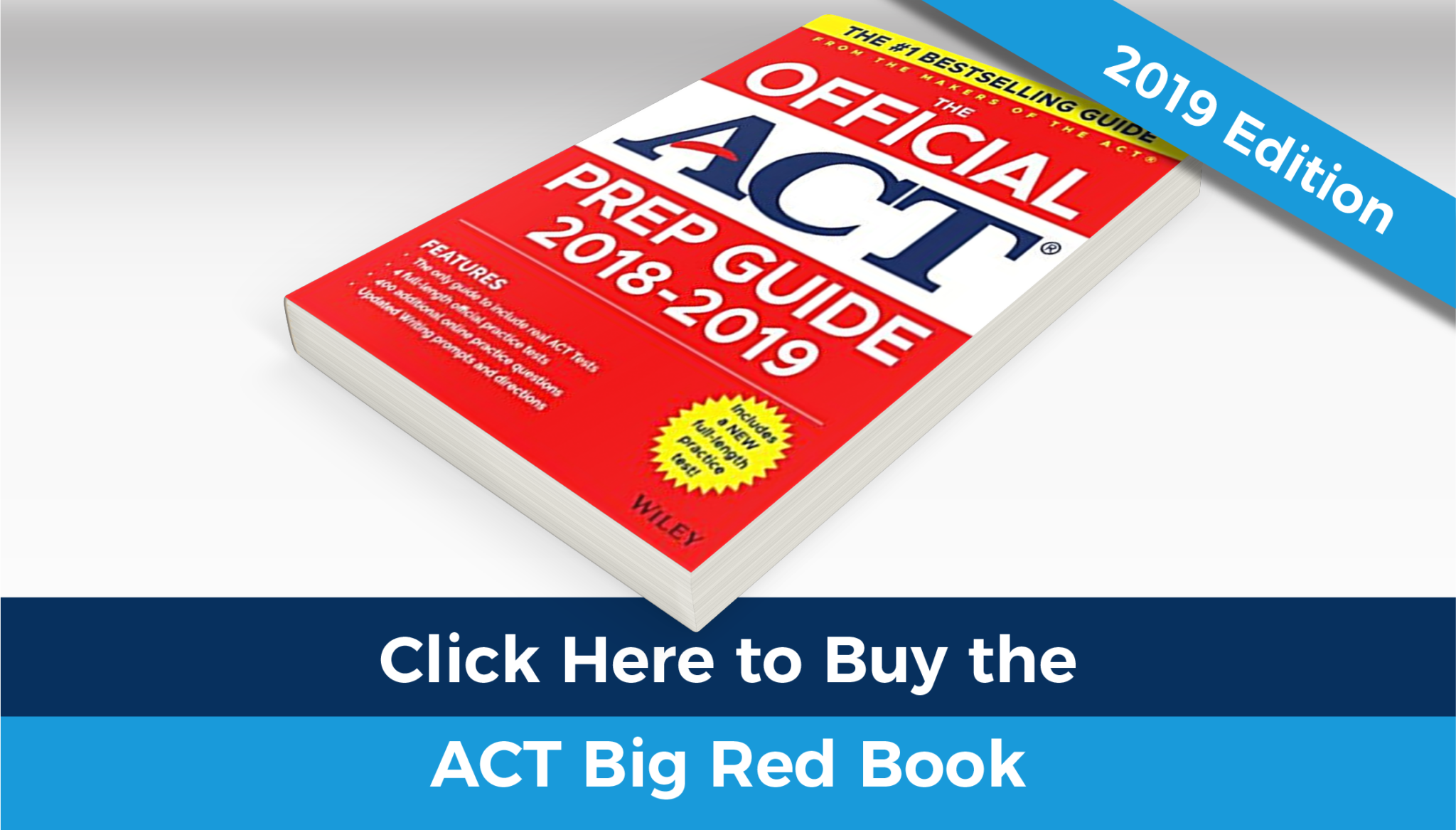 Buy the 2019 ACT Big Red Book
